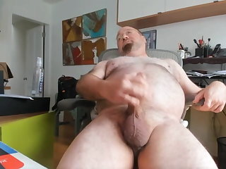bear (gay), amateur (gay), big cock (gay), cum tribute (gay), fat (gay), handjob (gay)