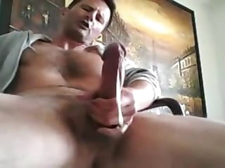daddy (gay), big cock (gay), masturbation (gay), , ,