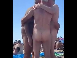 beach (gay), amateur (gay), handjob (gay), , ,