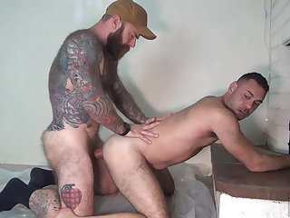 daddy (gay), big cock (gay), hunk (gay), muscle (gay), anal (gay),