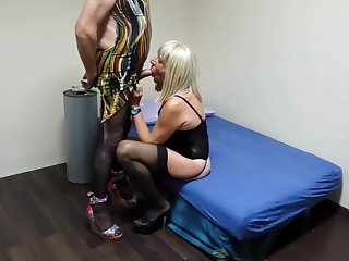 bareback, amateur, big cock, blowjob, crossdressing, gay