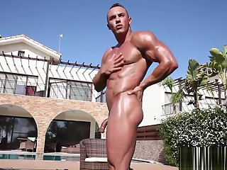 hd, gay, muscle, solo male, ,