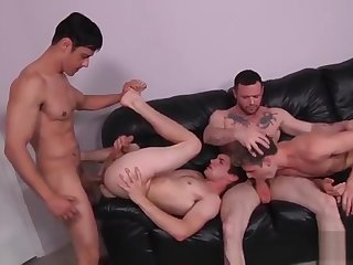 gay, blowjob, group sex, , ,