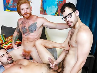 gay hunk, gay, gay interracial, gay sex, gay threesome,