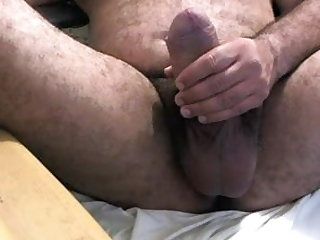 bear (gay), man (gay), big cock (gay), latino (gay), masturbation (gay),