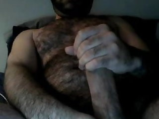 bear (gay), man (gay), big cock (gay), hunk (gay), masturbation (gay),