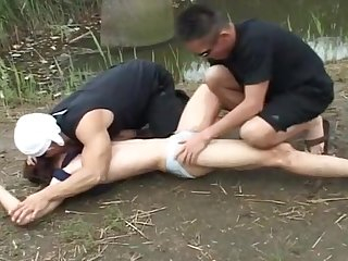 group sex, asian, fetish, bdsm, toys, fingering