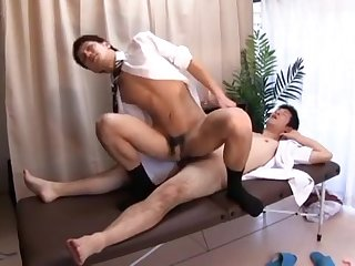 blowjob, asian, fingering, handjob, masturbation, rimming