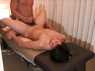 bareback, asian, japanese, blowjob, massage, cumshot