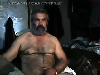spanish, beautiful, daddy, jerking, off,