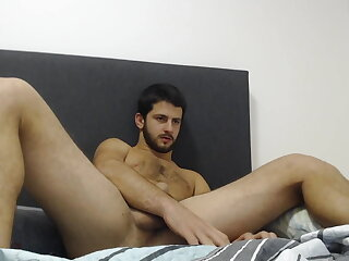 stud, handsome, jerks, his, cock, dirty