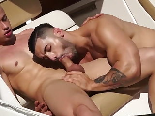 latino (gay), hunk (gay), muscle (gay), anal (gay), couple (gay),